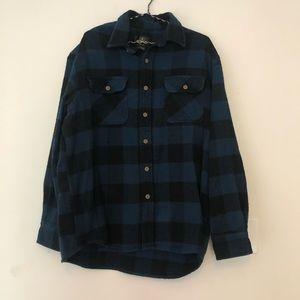 Redhead men's flannel jacket/heavy shirt large